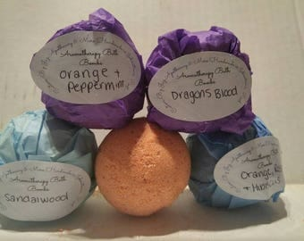 2 Pack Aromatherapy Bath Bombs