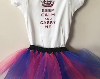 Keep Calm and Carry Me Tutu Set!