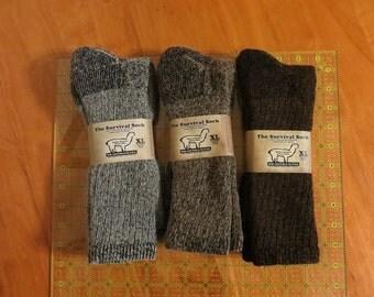 Alpaca socks XL