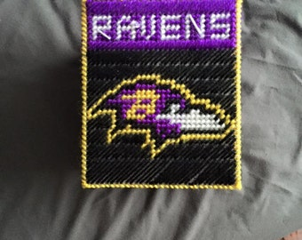 Baltimore Ravens Tissue Box Cover