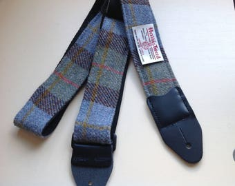 Macleod  Tartan Guitar & Mandolin Straps | Harris Tweed