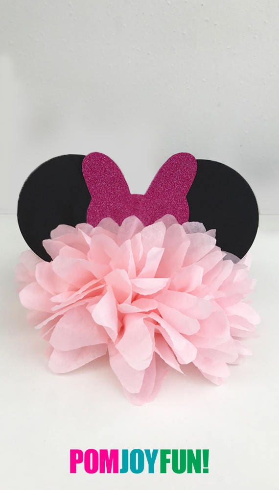 Minnie mouse birthday party decoration bow