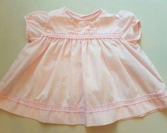Pretty in pink baby dress