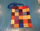 Boho Patch Tote Bag with ...