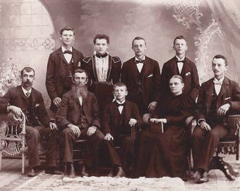 Allentown PA Lenhart's Photo ~ Distinguished Family Cabinet photo 1898