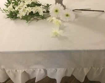 Tischdecke aus Baumwolle und Leinen Tischdecken