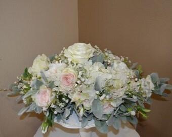 Wedding Centerpiece, Cake Table Centerpiece, Pink Centerpiece, Head table Centerpiece, Sweetheart Table Centerpiece