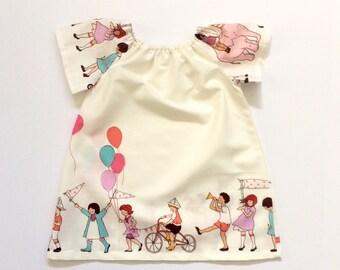 BIRTHDAY MUMU // birthday parade dress // toddler girls dress