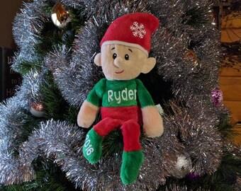Personalized elf, Christmas elf, Kids elf