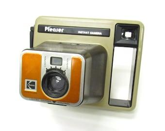 1970's Kodak Pleaser Instant Camera -Vintage camera