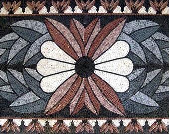 Floral Mosaic Rug