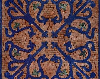 Octagonal Geometric Mosaic - Lila IV