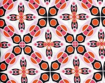 """Free Spirit Jenean Morrison """"Silent Cinema"""" Iris Pink Fabric"""