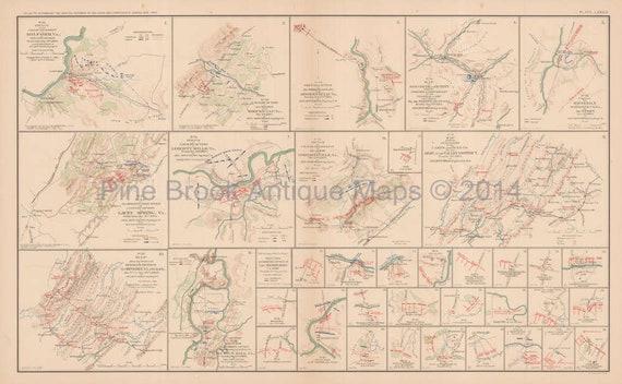 Shenandoah Valley Lacey Spring Civil War Gift Ideas Antique