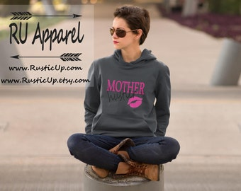 Mother Hustlers Hoodie, Momma Shirt, Womens Mom Life Shirt, Mommy and Me Shirts, New Mom Gift, Super Soft Tee, 8 colors to choose from