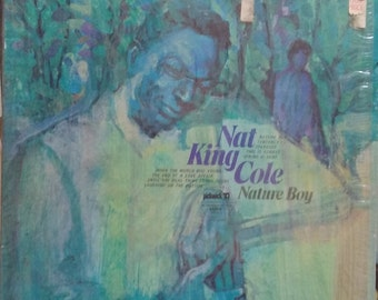 Nat King Cole, Nature Boy, Pickwick Record Label, Vintage Record Album, Vinyl LP, Re-release, American Singer, Jazz Pianist