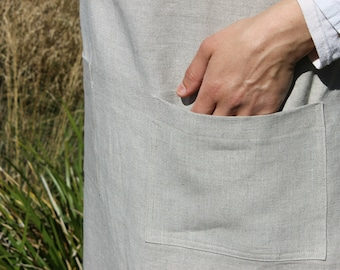 Classic Linen Apron | Pure Linen