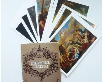 Set of postcards (9) / Комплект открыток (9)