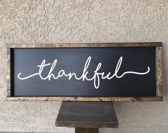 Thankful Farm Sign