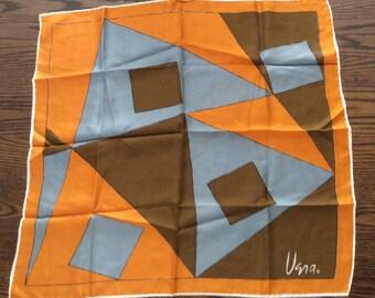 Vintage Vera Geometrics Scarf