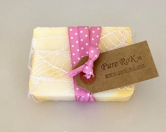 French, all natural soap, handmade soap, natural products, natural skincare, natural beauty, cold process, facial soap, moisturizing soap