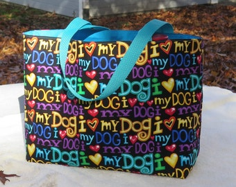 For Dog Lovers  Premium Cotton Tote