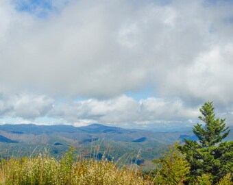 Mountain Photography Digital Download - Smoky Mountains - Landscape Photography - Instant Download
