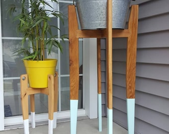 Tall Plant Stand Etsy