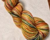 Adirondack Autumn 70/30 Merino Silk Hand-dyed Fingering Yarn