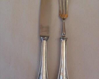 Fruit cutlery 800 silver 1950-1960, fruit cutlery 800 silver 1950-1960