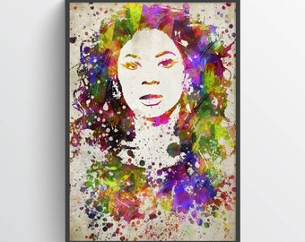 Beyonce Poster, Beyonce Print, Beyonce Art, Beyonce Decor, Home Decor, Gift Idea