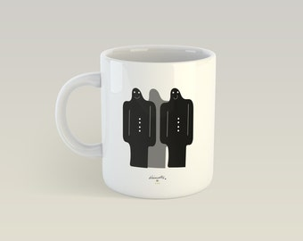 Mug - They arrive - ceramic Cup, gift