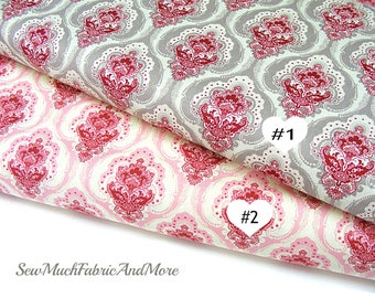 Penny Rose Beaujolais fabric~2 colors~by the 1/2 yd~cotton~french inspired~C5110~Sue Daly~cotton~home decor & quilting