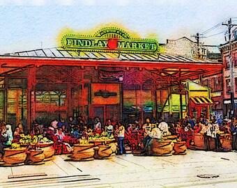 Cincinnati's Findlay Market II: Photographic Art of the Famous Market  in Cincinnati, Ohio