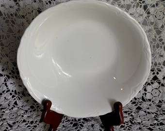 Vintage Ironstone Serving Bowl, American Ironstone Bowl, 8.5 in. Diameter