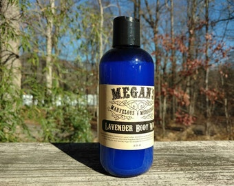 Lavender Body Wash, bath soap, liquid soap, shampoo, body wash, bubble bath, essential oil, natural fragrance