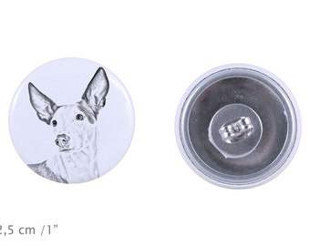 Earrings with a dog - Ibizan Hound