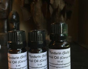 Mandarin Sicily Essential Oil, Citrus reticulata, Pure Mandarin Essential Oil, Buy Pure Mandarin Essential Oil, Kosher Certified Oil