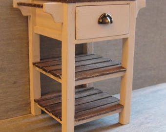 1/12th Scale Single Drawer Workstation