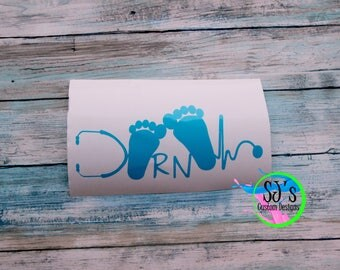 NICU nurse, NICU decal, nicu nurse decal, NICU nurse, Decal, Nurse decal, rn decal, rt decal, rrt decal, rn vinyl decal, car decal, nicu