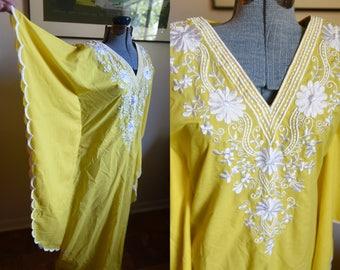 Reserved - Small / Medium - Beautiful Bohemian Dress Kaftan
