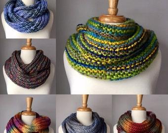 Custom Knit Scarf Order
