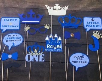 Royal Prince Photo booth Props / Little Prince Photo props