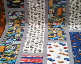 Muscle Cars Quilt