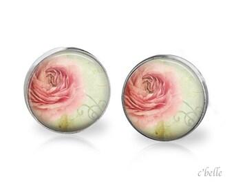Ear studs of pastellener cherry blossom 11
