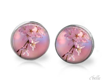 Earrings cherry blossoms 55