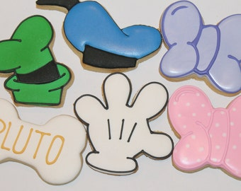 mickey mouse cookies  Mickey mouse club house Mickey and friends