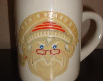 Vintage Bah Humbug Denny's Restaurant Mug