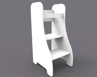 Puckdaddy Learning Tower - white