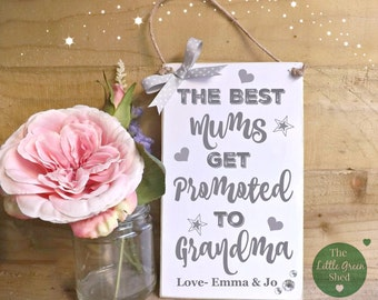 Personalised Mum Nan Plaque Sign Keepsake Gift Mothers Day